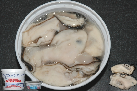 shucked oysters oysters meat seacore seafood products