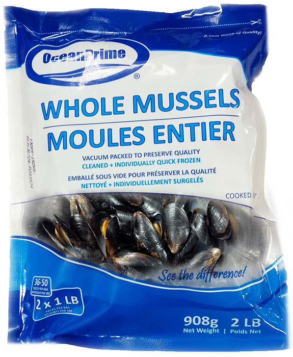 Chilean Mussels | Blue Mussels | Seacore Seafood Products